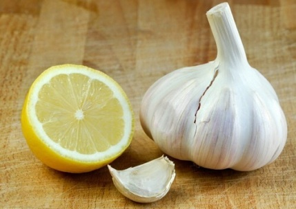 Image result for garlic lemon
